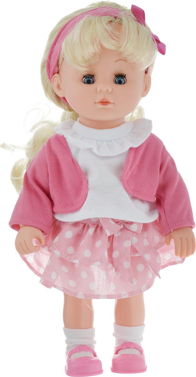 Карапуз Кукла озвученная Я люблю танцевать цвет одежды розовый белый
