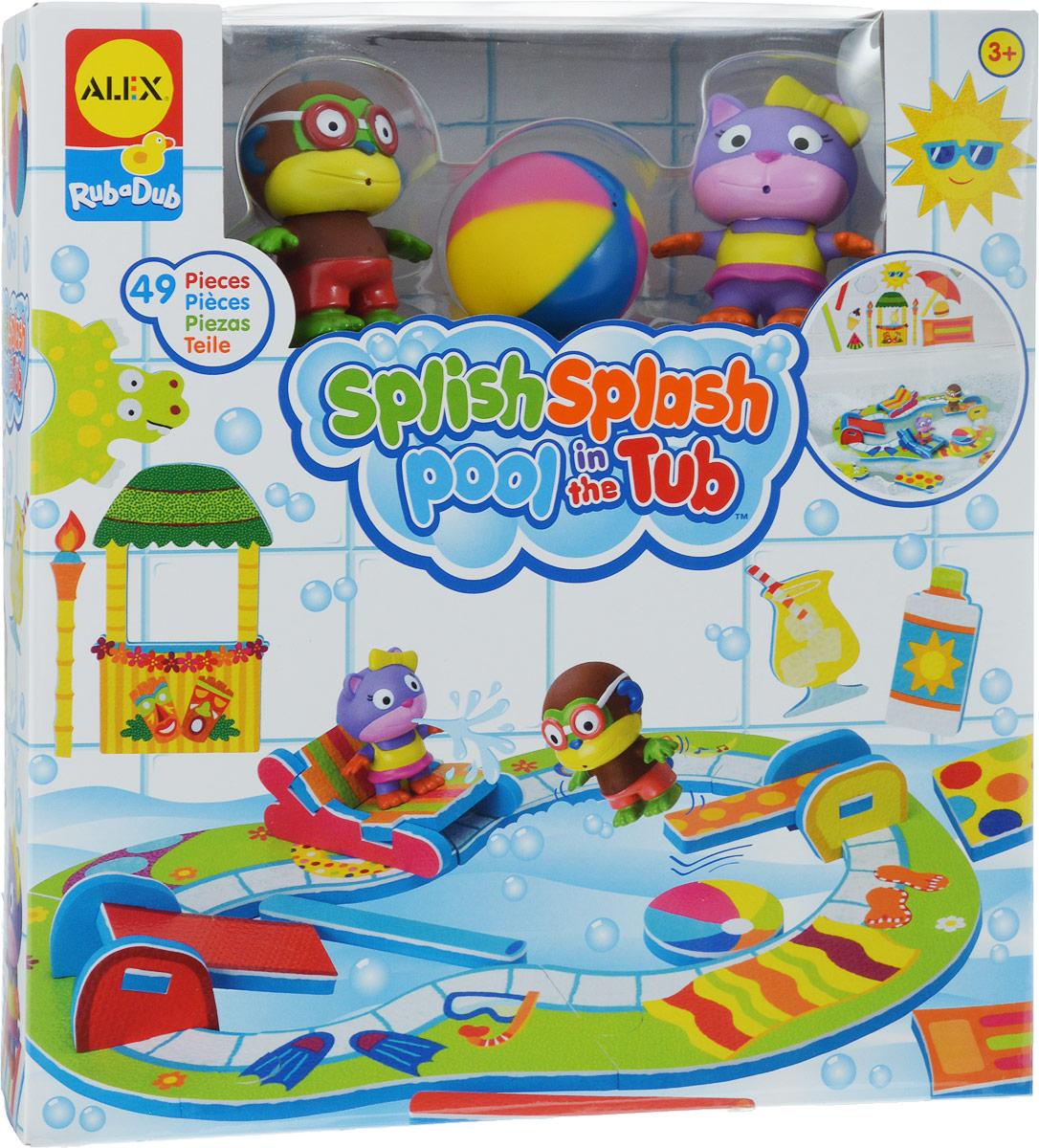Alex Toys Набор игрушек для ванной Пляжная вечеринка игрушки для ванны tolo toys набор ведерок квадратные