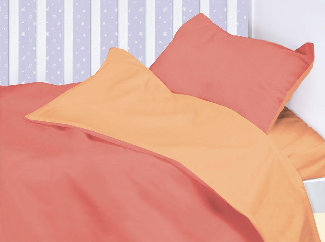 Mirarossi Комплект детского постельного белья Ninna Nanna цвет коралловый 10тр-MR-д10тр-MR-дКоллекция: Ninna Nanna Комплектация: наволочка 40 х 60 см, пододеяльник для одеяла 140 х 110 см, простынь на резинке для матраса 120 х 60 см . Материал: 100% хлопок,трикотаж.