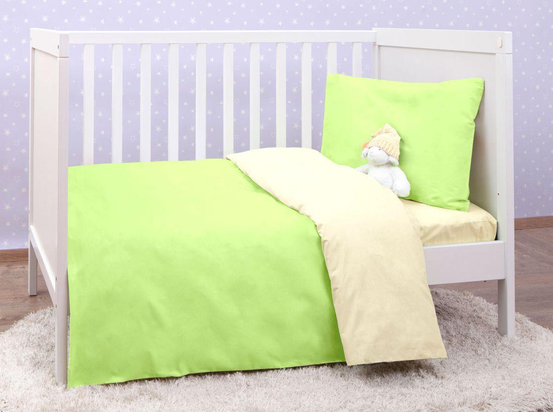 Mirarossi Комплект детского постельного белья Ninna Nanna цвет зеленый 10тр-MR-дм10тр-MR-дмКоллекция: Ninna Nanna Комплектация: наволочка 40 х 60 см, пододеяльник для одеяла 140 х 110 см, простынь на резинке для матраса 120 х 60 см . Материал: 100% хлопок,трикотаж.