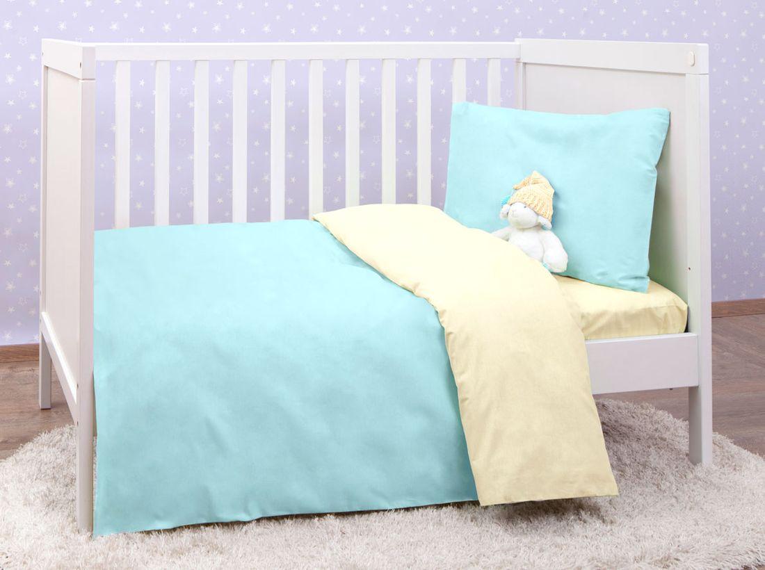 Mirarossi Комплект детского постельного белья Ninna Nanna цвет голубой комплект постельного белья mirarossi veronica pink