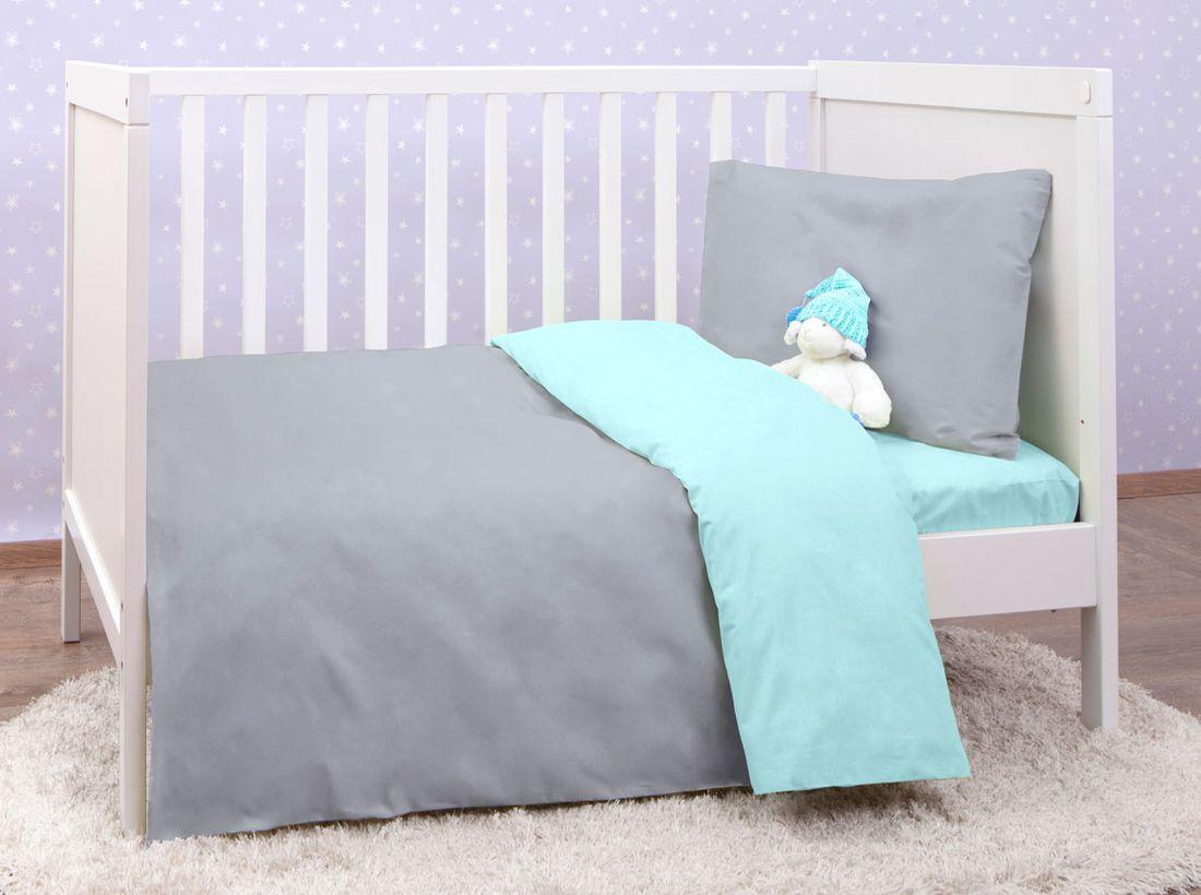 Mirarossi Комплект детского постельного белья Ninna Nanna цвет серый 10тр-MR-дм10тр-MR-дмКоллекция: Ninna Nanna Комплектация: наволочка 40 х 60 см, пододеяльник для одеяла 140 х 110 см, простынь на резинке для матраса 120 х 60 см . Материал: 100% хлопок,трикотаж.