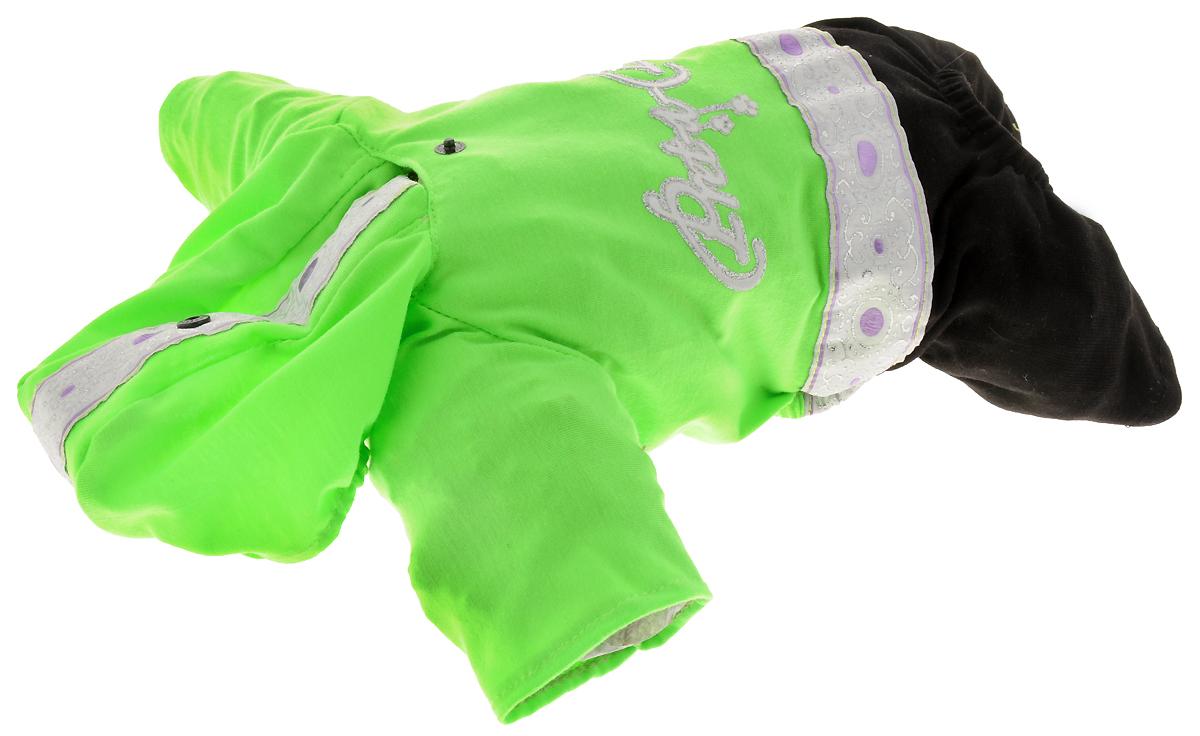 Комбинезон для собак  GLG , цвет: салатовый, черный. Размер XS - Одежда, обувь, украшения