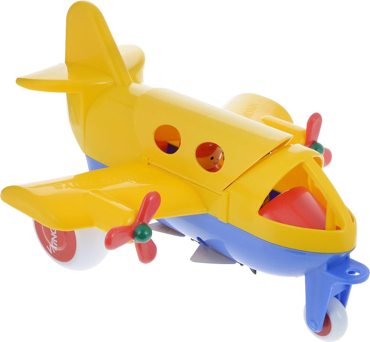 Viking Toys Самолет Джамбо цвет желтый - Транспорт, машинки