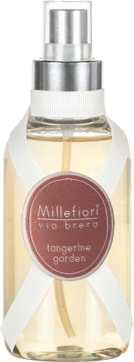Ароматизатор Millefiori Milano Via Brera, мандариновый сад, 150 мл ароматизатор millefiori milano via brera минеральное море 150 мл