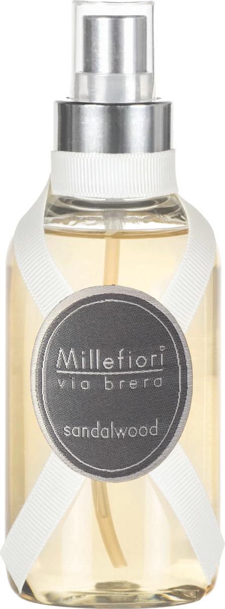 Ароматизатор Millefiori Milano Via Brera, сандаловое дерево, 150 мл ароматизатор millefiori milano via brera мандариновый сад сменный блок 250 мл
