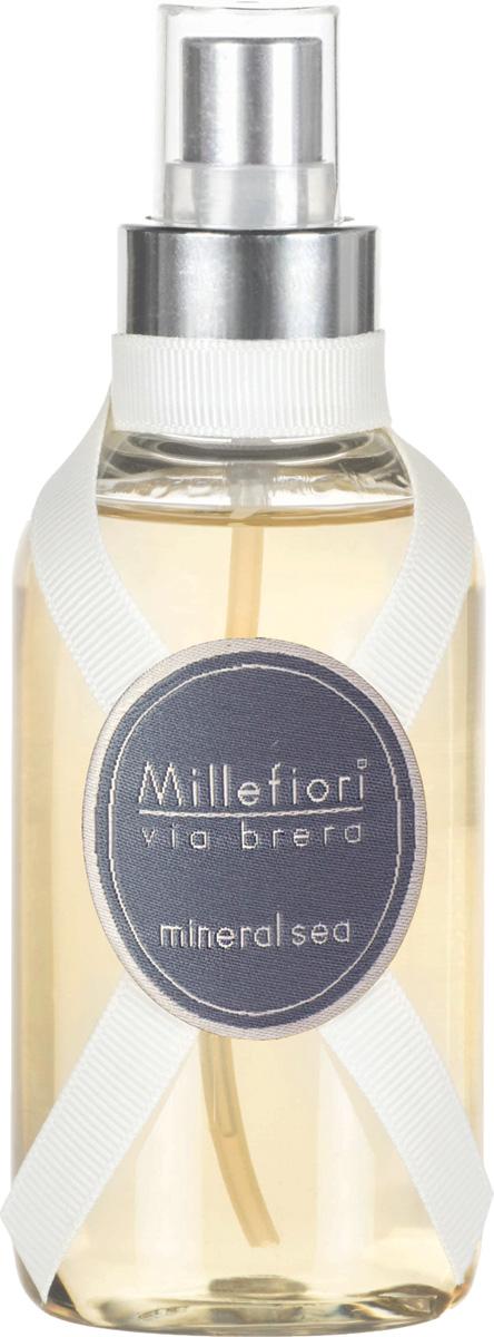Ароматизатор Millefiori Milano Via Brera, минеральное море, 150 мл ароматизатор millefiori milano via brera сандаловое дерево сменный блок 250 мл