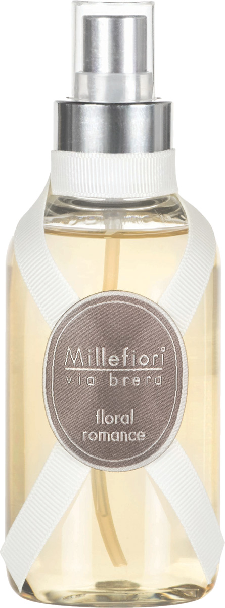 Ароматизатор Millefiori Milano Via Brera, цветочный роман, 150 мл ароматизатор millefiori milano natural цветы магнолии и дерево 150 мл