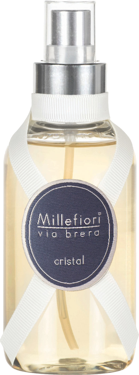 Ароматизатор Millefiori Milano Via Brera, кристалл, 150 мл ароматизатор millefiori milano via brera сандаловое дерево сменный блок 250 мл