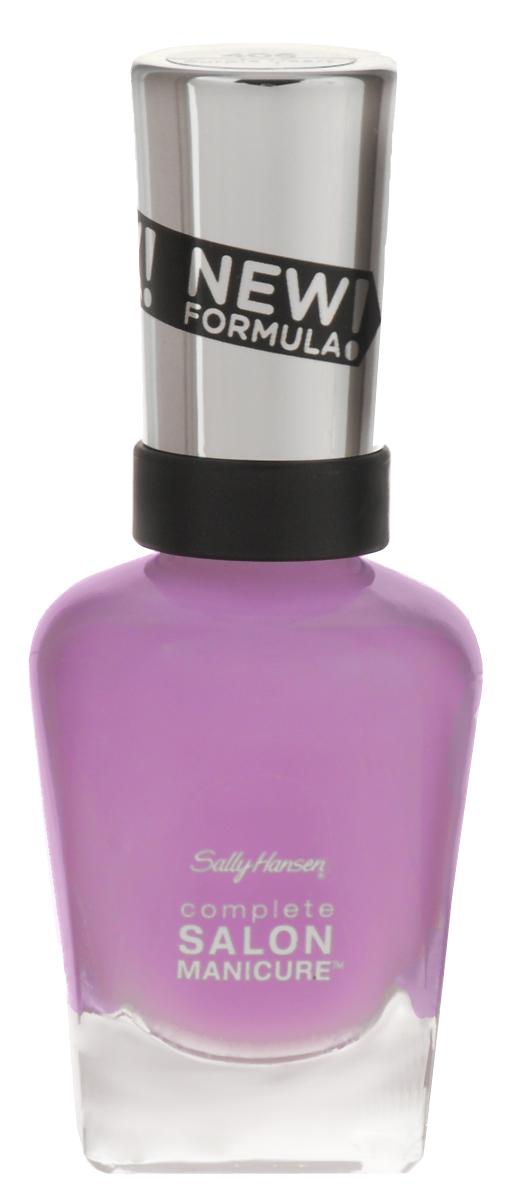 Sally Hansen Salon Manicure Keratin Лак для ногтей тон purple heart 406 14,7 мл30994236406Комплекс Complete Salon Manicure сочетает семь эффектов в одном флаконе, плюс кисточку для безукоризненного покрытия, легкого нанесения и салонных результатов. Эта формула всё-в-одном обеспечивает до 10 дней устойчивого к сколам покрытия и включает основу, средство для роста, вдохновленный подиумом цвет, топ, финишное покрытие с гелевым сиянием, устойчивость к сколам и укрепляющее средство с кератиновым комплексом, делающим ногти до 64% сильнее. Это всё, что вам нужно, чтобы достичь профессиональных результатов при окрашивании ногтей на дому!Как ухаживать за ногтями: советы эксперта. Статья OZON Гид