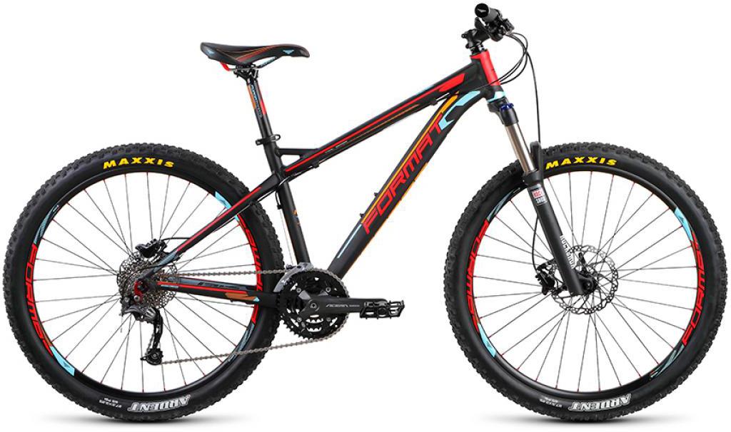 Велосипед горный Format 1312 (2015), цвет: черный, рама 21, колесо 27,5232342