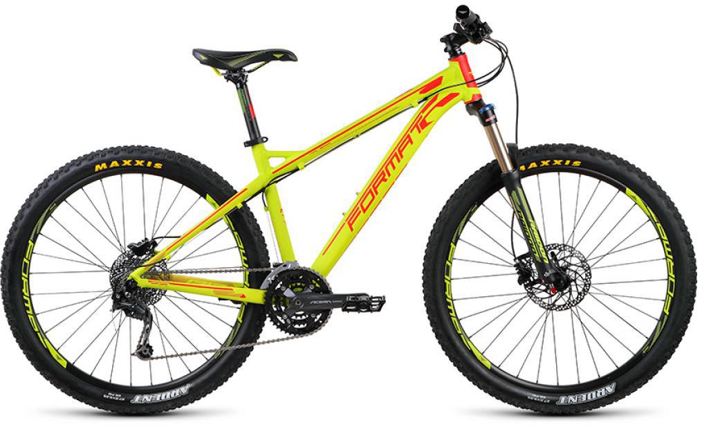 Велосипед горный Format 1313 (2015), цвет: желтый, рама 19, колесо 27,5232345