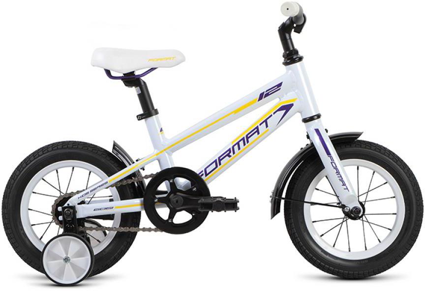 Велосипед детский Format Girl (2015), цвет: белый, колесо 12232632
