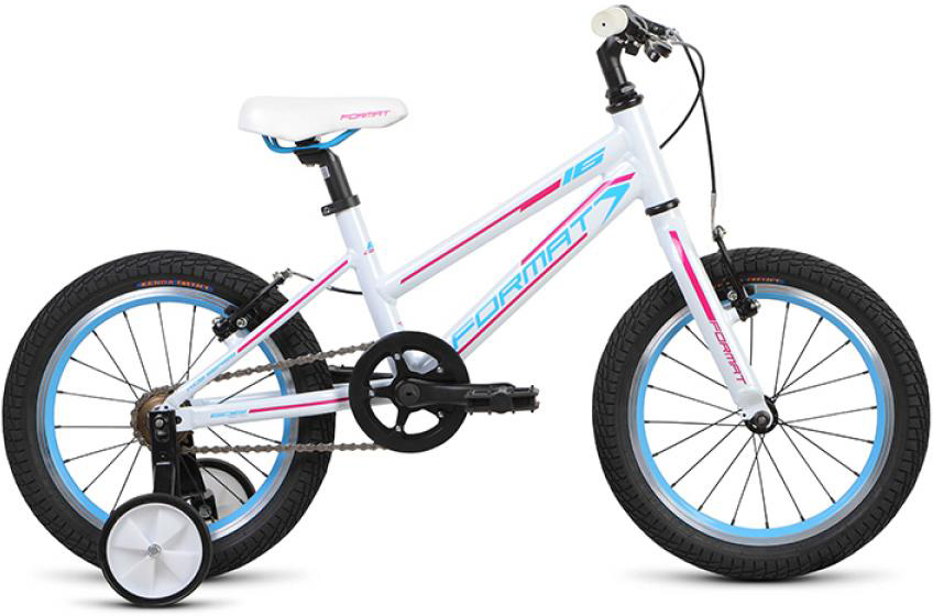 Велосипед детский Format Girl (2015), цвет: белый, колесо 16 велосипед format kids girl 16 2017
