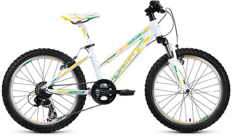 Велосипед детский Format 7423 Girl (2015), цвет: белый, колесо 20232711