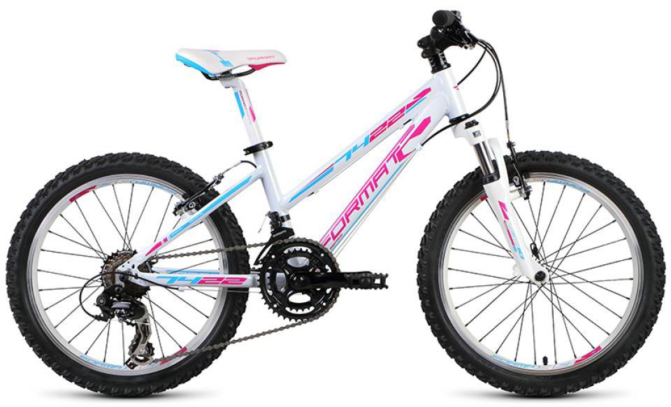 Велосипед детский Format 7422 Girl (2015), цвет: белый, колесо 20232713