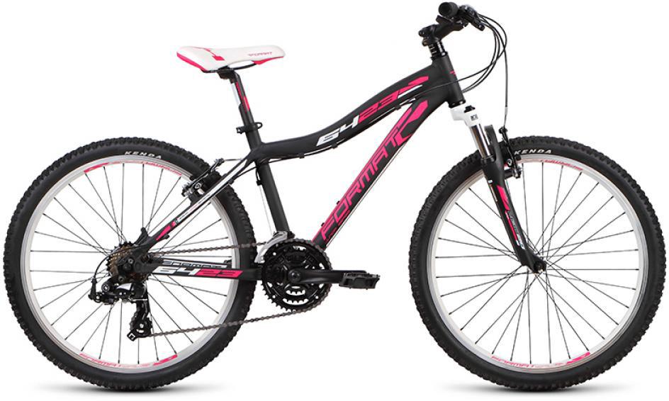 Велосипед детский Format 6423 Girl (2015), цвет: черный, колесо 24232715