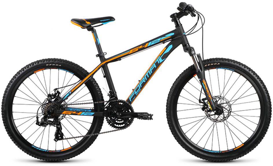 Велосипед детский Format 6412 Boy (2015), цвет: черный, колесо 24232718