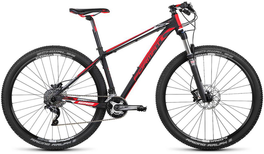Велосипед горный Format 1212 Elite (2015), цвет: черный, рама 17, колесо 29232720