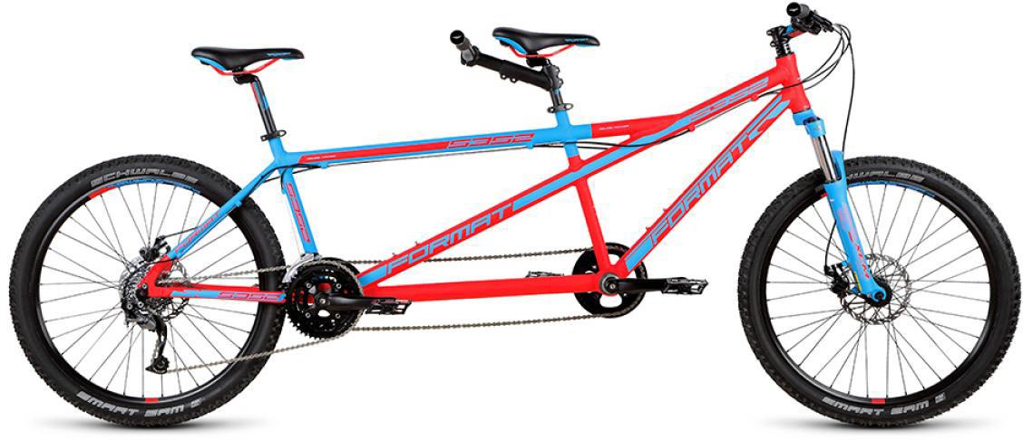Велосипед горный Format 5352 (2015), цвет: красный, колесо 26232723