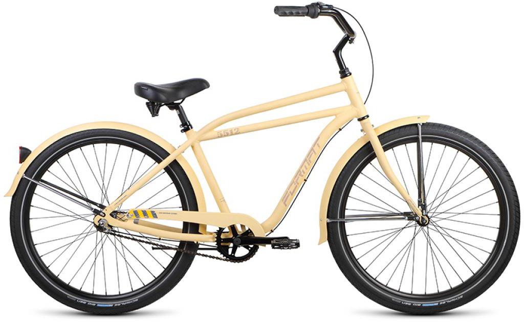 Велосипед городской Format 5512 (2015), цвет: белый, колесо 26 велосипед format 5512 2016