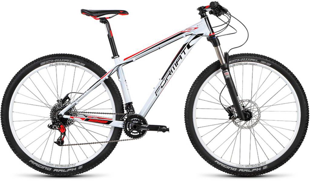 Велосипед горный Format 1212 (2015), цвет: белый, рама 19, колесо 29232725