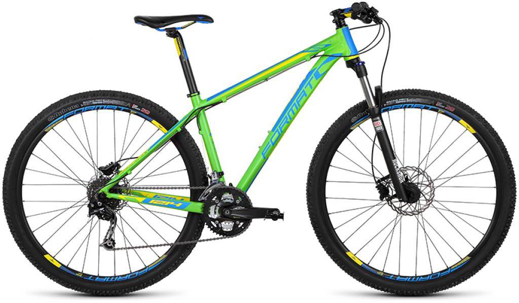 Велосипед горный Format 1214 (2015), цвет: зеленый, рама 15, колесо 29232728