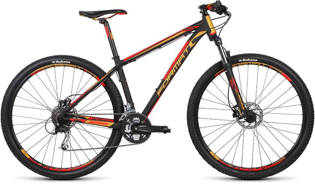 Велосипед горный Format 1215 (2015), цвет: черный, рама 21, колесо 29232735
