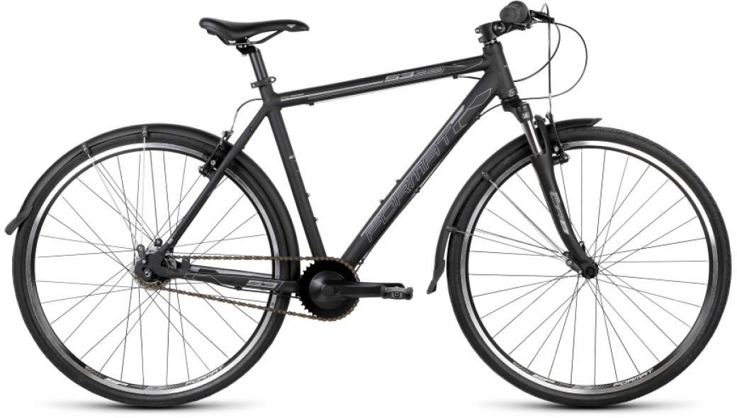 Велосипед городской Format 5332 (2015), цвет: черный, рама 21, колесо 28232745