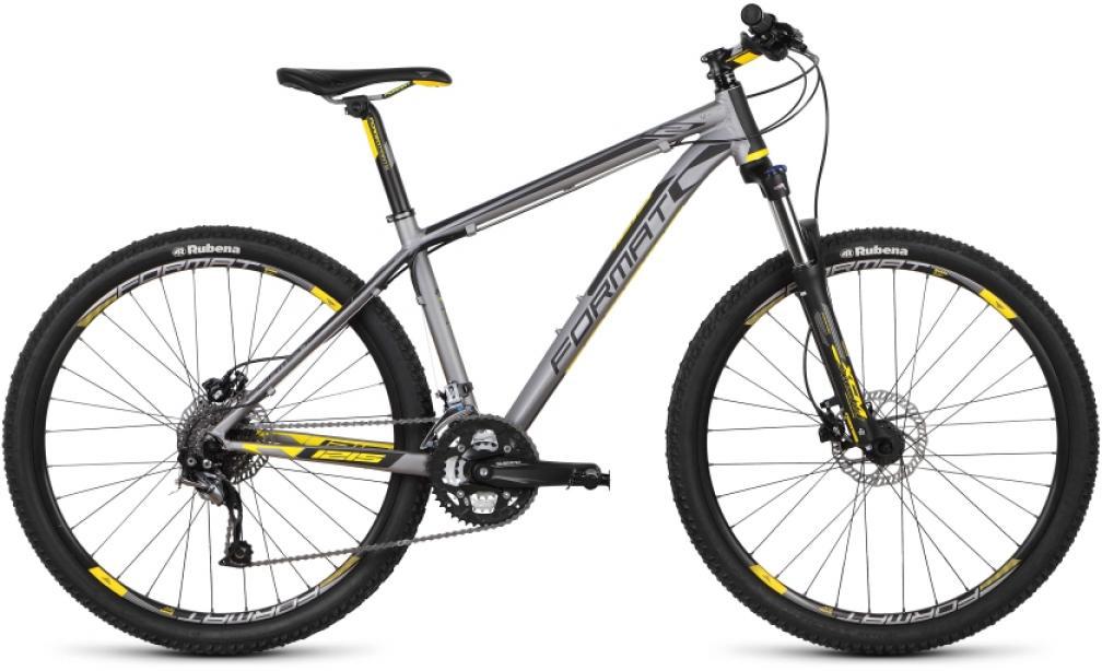 Велосипед горный Format 1215 (2015), цвет: серый, рама 21, колесо 27,5232754