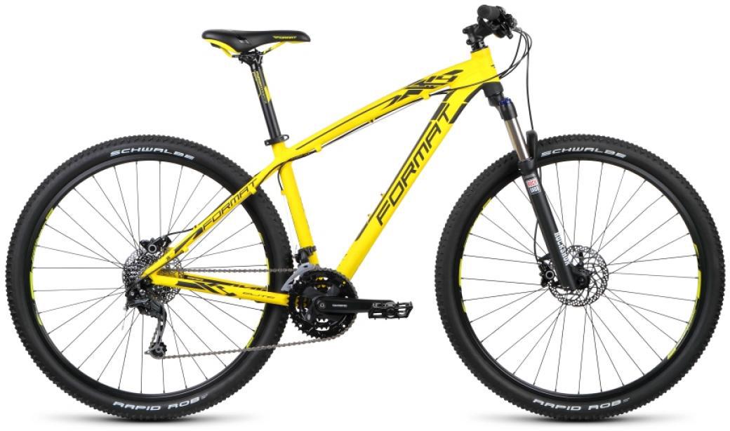 Велосипед горный Format 1411 Elite (2015), цвет: желтый, рама 17, колесо 29232759