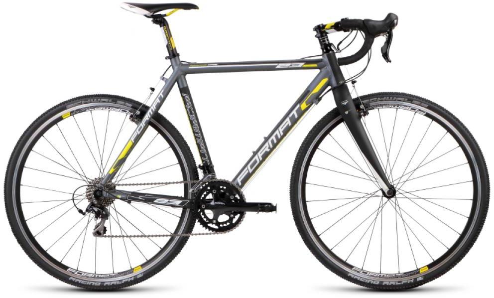 Велосипед шоссейный Format 2312 (2015), цвет: серый, рама 23, колесо 28232764