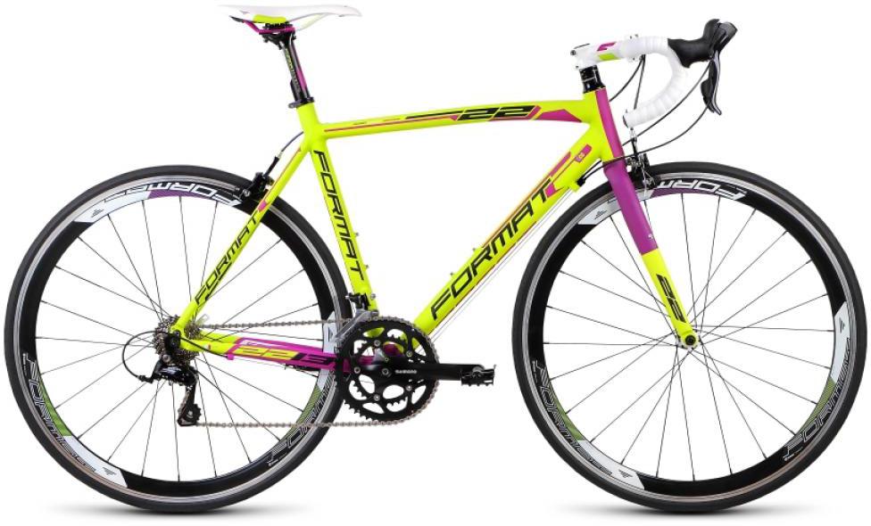 Велосипед шоссейный Format 2213 (2015), цвет: желтый, рама 22,5, колесо 28232771