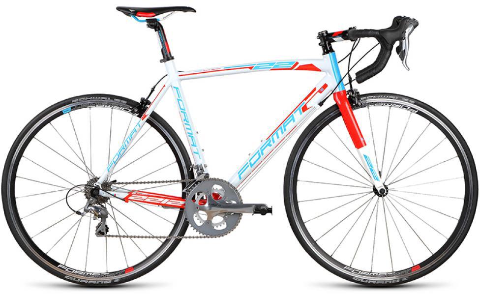 Велосипед шоссейный Format 2212 (2015), цвет: белый, рама 20, колесо 28232778