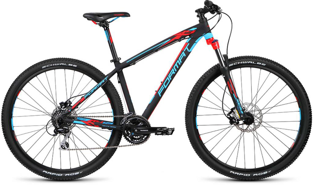 Велосипед горный Format 1412 (2015), цвет: черный, рама 19, колесо 29232779