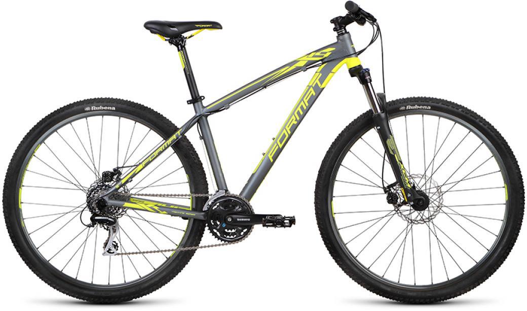 Велосипед горный Format 1413 (2015), цвет: серый, рама 17, колесо 29232784