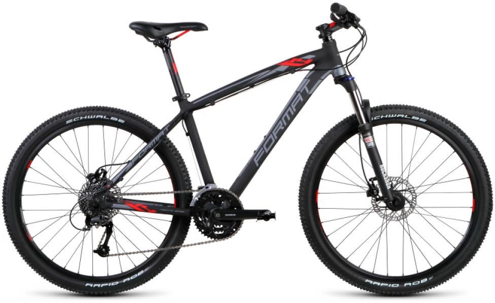 Велосипед горный Format 1411 (2015), цвет: серый, рама 15, колесо 26232883
