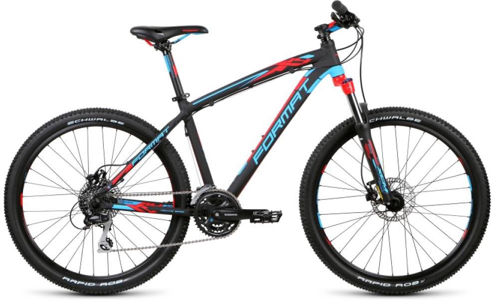 Велосипед горный Format 1412 (2015), цвет: черный, рама 21, колесо 26232890