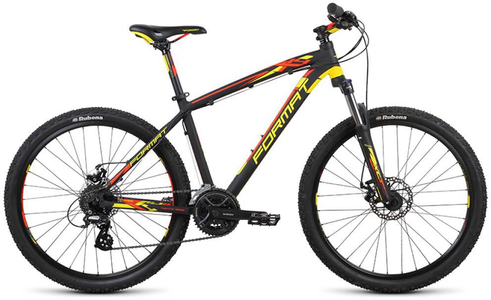 Велосипед горный Format 1414 (2015), цвет: желтый, рама 19, колесо 26232905