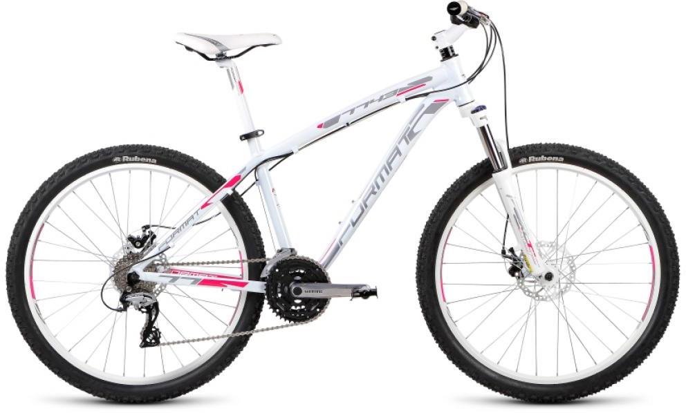 Велосипед горный Format 7743 (2015), цвет: белый, рама 17, колесо 26232998