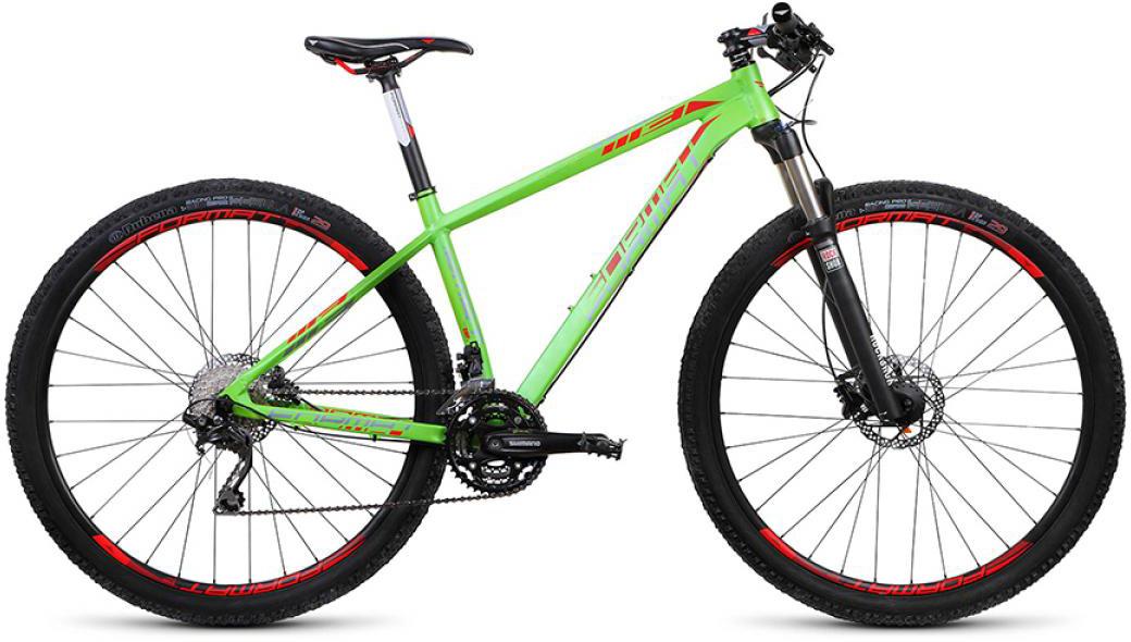 Велосипед горный Format 1113 (2016), цвет: зеленый, рама 16, колесо 29260707