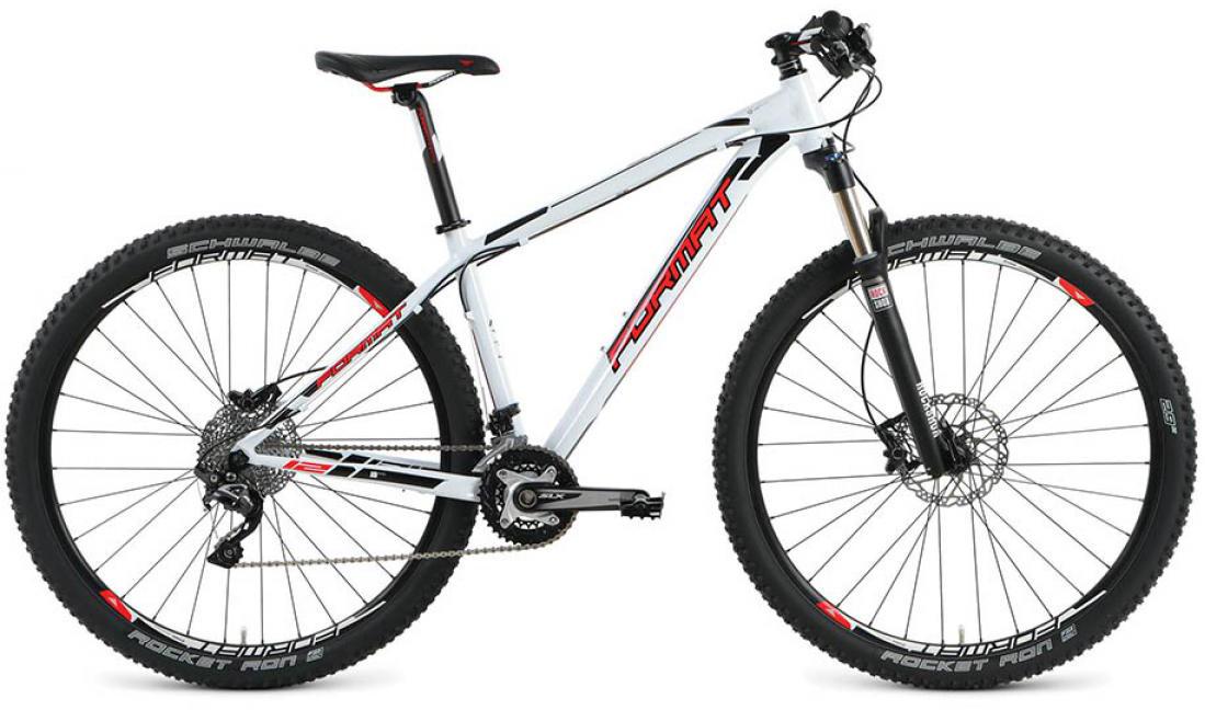 Велосипед горный Format 1212 Elite (2016), цвет: белый, рама 20, колесо 29260712