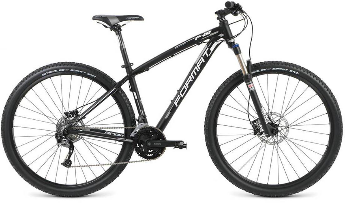 Велосипед горный Format 1411 Elite (2016), цвет: черный, рама 20, колесо 29260717
