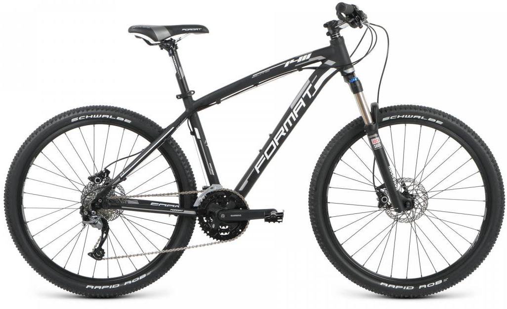 Велосипед горный Format 1411 Elite (2016), цвет: черный, рама 18, колесо 26260718