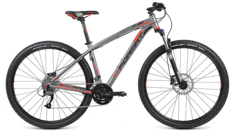 Велосипед горный Format 1411 (2016), цвет: серый, рама 20, колесо 29260722