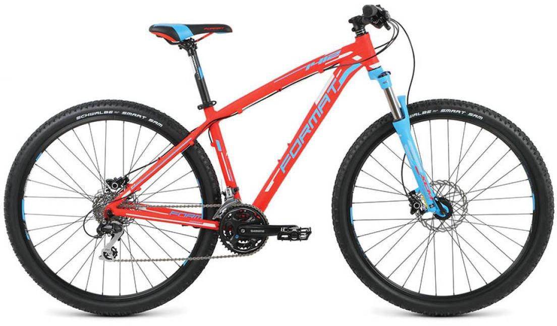 Велосипед горный Format 1412 (2016), цвет: красный, рама 22, колесо 29260734