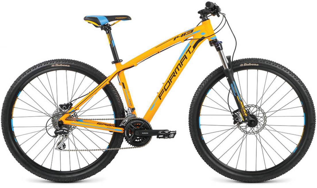 Велосипед горный Format 1413 (2016), цвет: оранжевый, рама 22, колесо 29260744