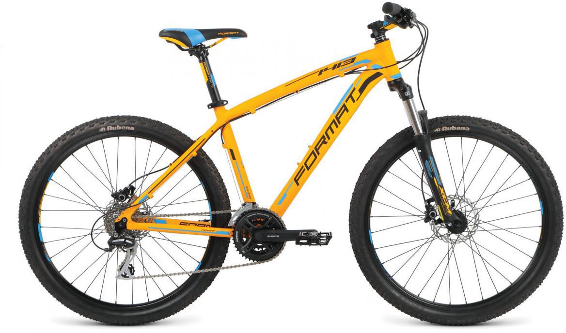 Велосипед горный Format 1413 (2016), цвет: оранжевый, рама 16, колесо 26260745