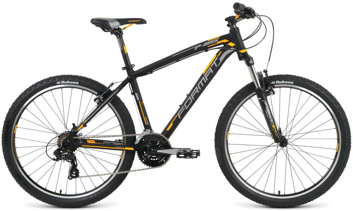 Велосипед горный Format 1415 (2016), цвет: черный, рама 22, колесо 26 skil 1415 ld купить
