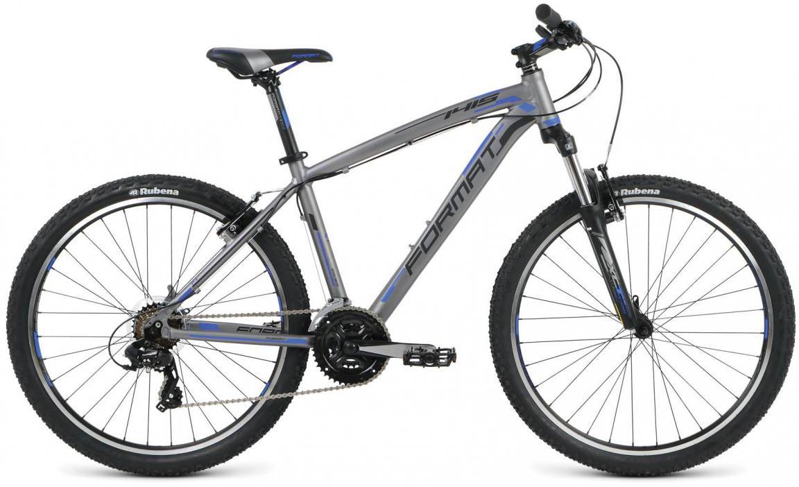 Велосипед горный Format 1415 (2016), цвет: серый, рама 16, колесо 26 skil 1415 ld купить